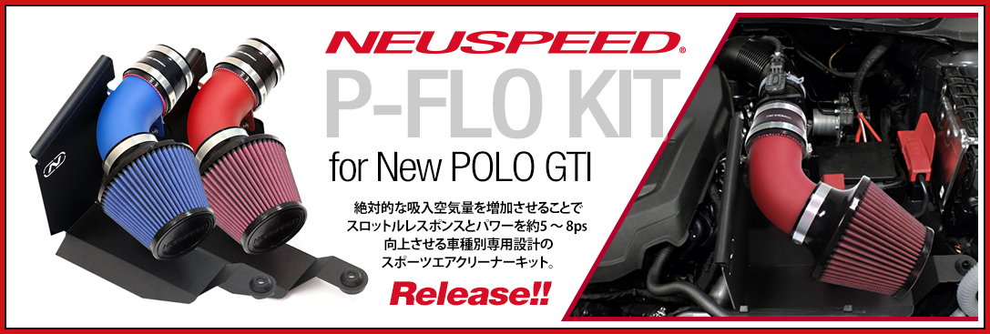 NEUSPEED P-Flo Kit for NEW POLO GTI